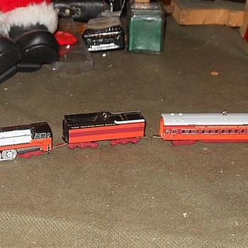 Hallmark Train Ornaments Milwaukee Road - Christmas