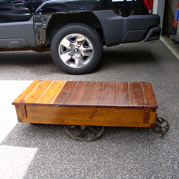 Nutting Cart hot rod coffee table - Furniture