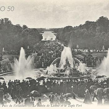 PARC DE VERSAILLES – LE BASSIN DE LATONE ET LE TAPIS VERT  - Postcards