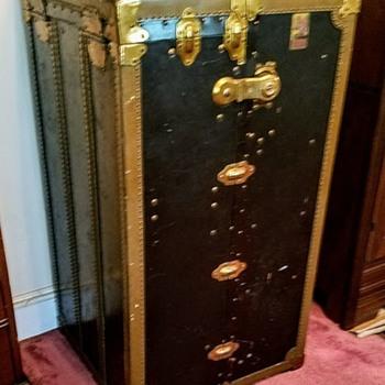 Early 1900's Steamer/Wardrobe Trunk? - Furniture
