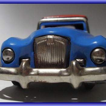 METAL LITHO TIN TOY CAR -- ((( Part 2 ))) - Toys