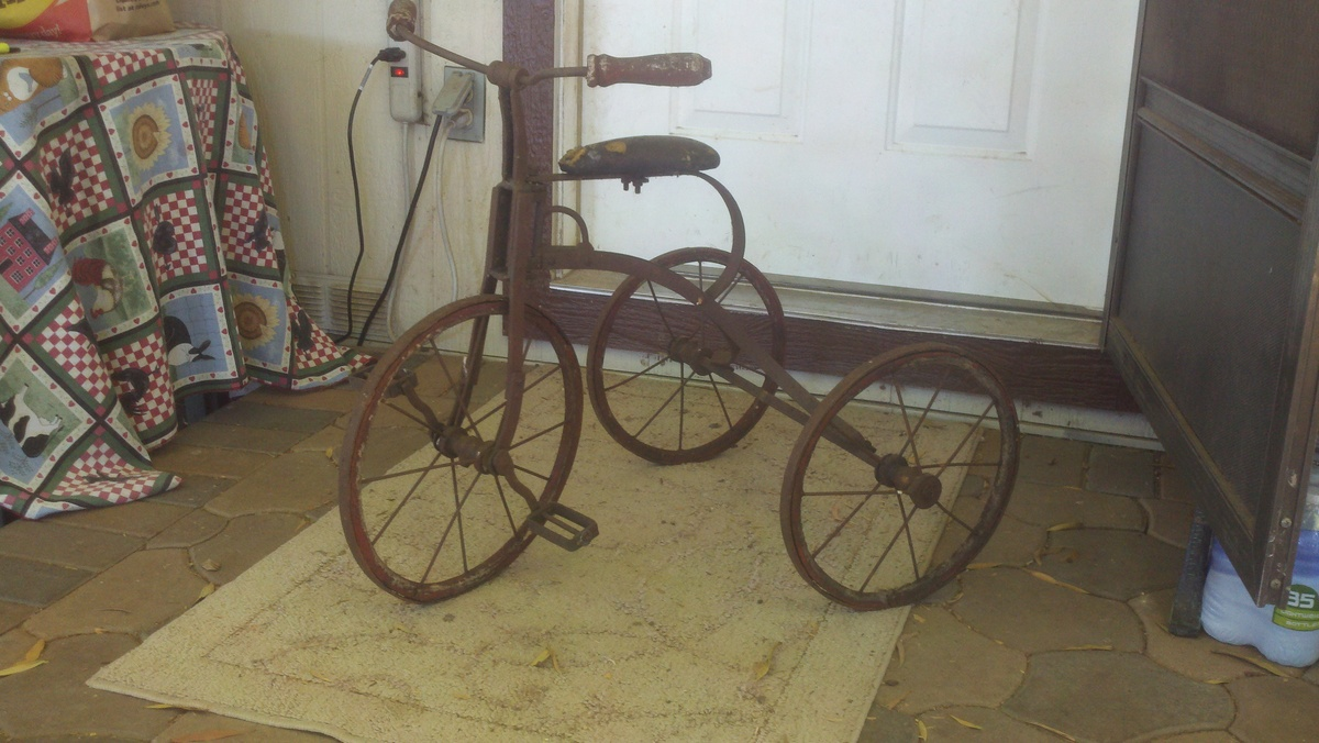 af221b6c96a Antique Tricycle   Collectors Weekly