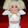 Ceramic Angel Doll signed Sarah Vintage