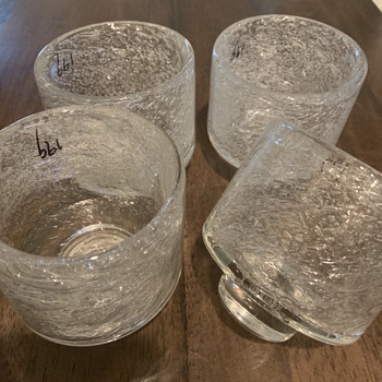 Does anyone know anything about these glasses? - Glassware