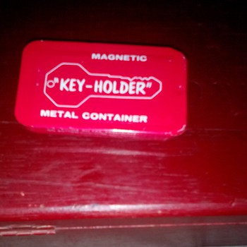 "Vintage Magnetic Metal ""Hide-A-Key""  - Tools and Hardware"