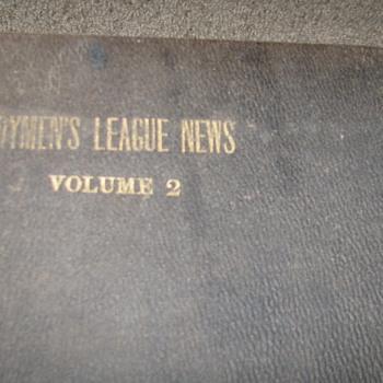 Vintage 1918 Dairymen's League News Book
