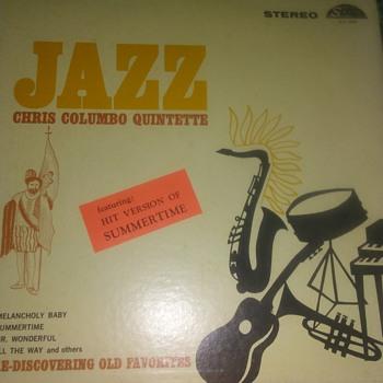 The Chris Columbo Quintet...On 33 1/3 RPM Vinyl - Records