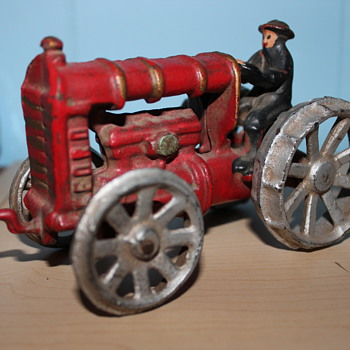 Cast Iron Ford Tractor Toy
