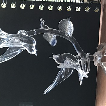 Glass figurines - Art Glass