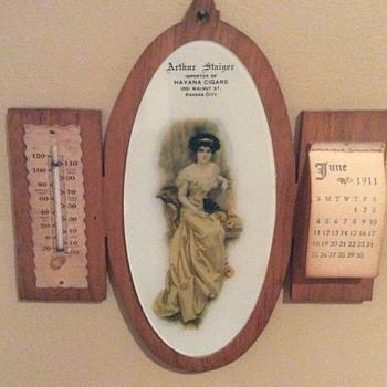 1911 calendar - Advertising