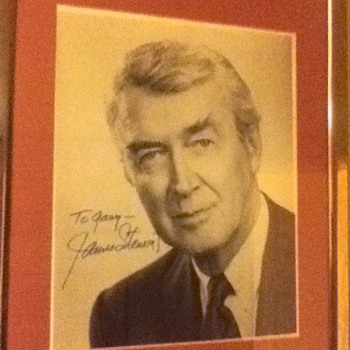 Jimmy Stewart Signed Picture - Movies