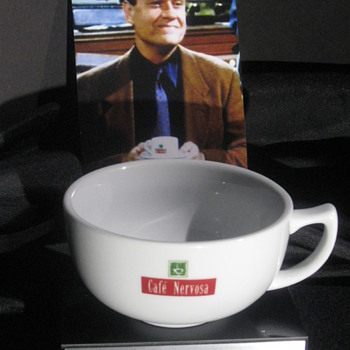 'Frasier' . . . Cafe Nervosa Cup & Saucer - China and Dinnerware