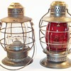 ERIE Railway Co. Railroad Lanterns