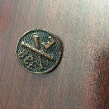 Button found in yard sale