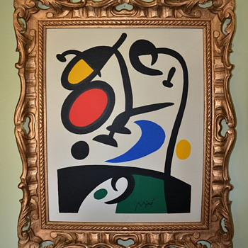 A Beautiful Miro Print finds a New Frame - Posters and Prints