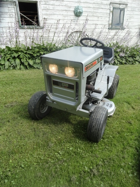 1974 Sears Craftsman Lt 10 36 Riding Mower Collectors Weekly