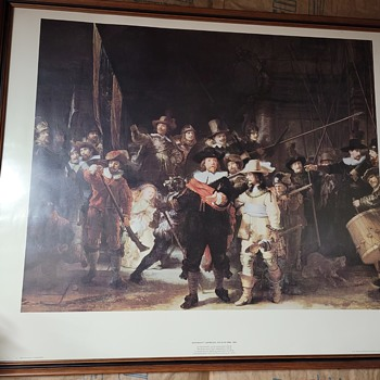 The Night Watch by Rembrandt van Rijn - Posters and Prints