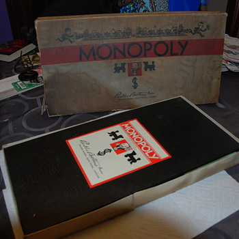 Really old Monopoly Game - Games