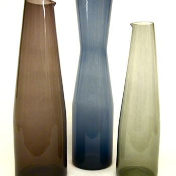 Timo Sarpaneva Decanters by Iittala - Art Glass
