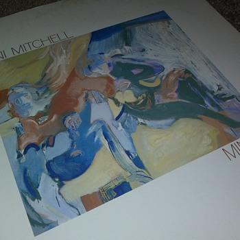 Miss Joni Mitchell...On 33 1/3 RPM Vinyl - Records