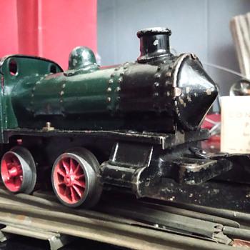 Bing Clockwork Locomotive 1920´s - Model Trains