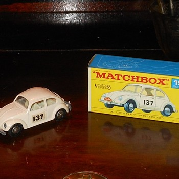 Matchbox #15 Volkswagen 1500 - Model Cars