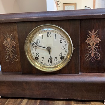 Antique Sessions Mantel Clock - Clocks
