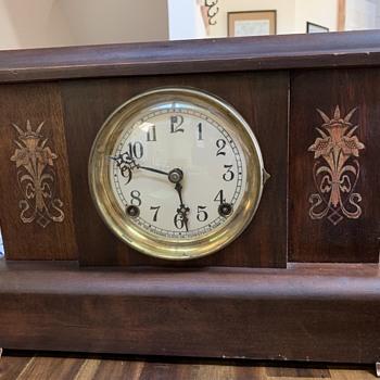 Antique Sessions Mantel Clock - Clocks