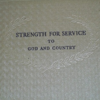 PERSONAL MILITARY GIFT BOOK - Military and Wartime
