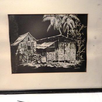 Island Hut Drawing - Fine Art