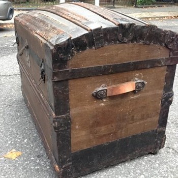 Domed Steamer Trunk - Furniture