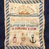 Nautical cross-stitch poem