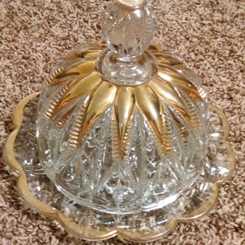 butter /cheese dish? - Glassware
