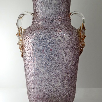 A Beautiful Welz Glass Vase - Art Glass