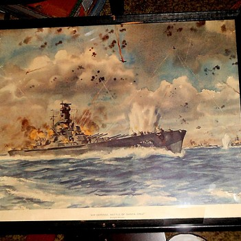 Air Defense, Battle of Santa Cruz by Dwight Shepler