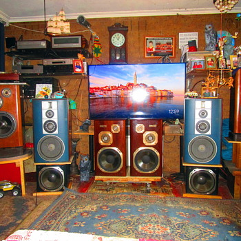 Man Cave Victor Sound System. - Electronics