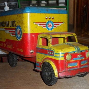 old truck - Model Cars