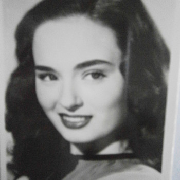 American actress Ann Blyth  - Postcards
