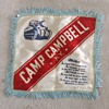 WW2 Camp Campbell, KY souvenir pillow cover  c. 1943
