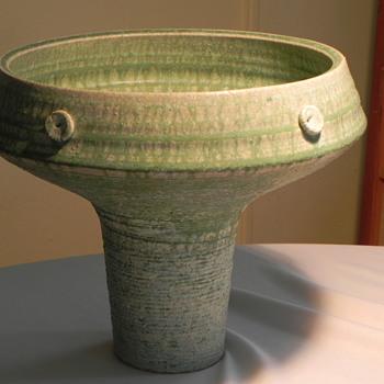 Mid Century Modern Art Pottery Mystery Makers Mark - Pottery