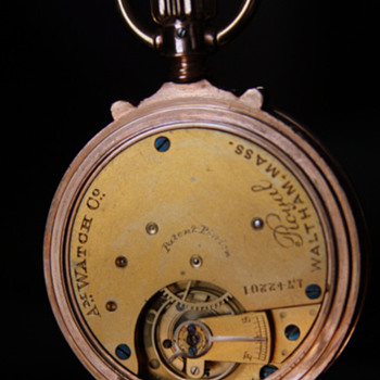 Antique  14k Pocket Watch - American Watch Company - Model 1873 -  Royal