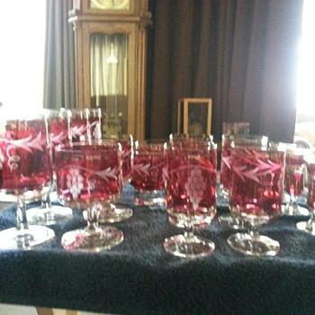 Wine glass collection - Glassware