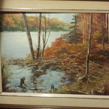 Found painting - Fine Art