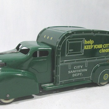 Marx Garbage Truck - Model Cars