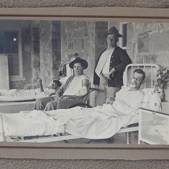 Early 20th century Wounded Marines - Photographs