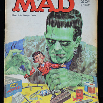 MAD Magazine - #89 September 1964
