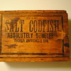 Salt Cod Wooden Box