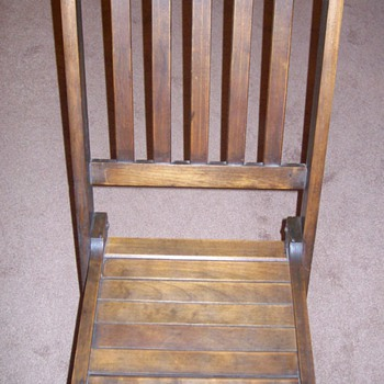 "Old ""Deck Chair"" - Furniture"
