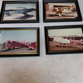 VINTAGE PLANE PHOTOS - Photographs
