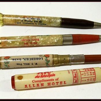 Some Vintage Old Pens / Pencils